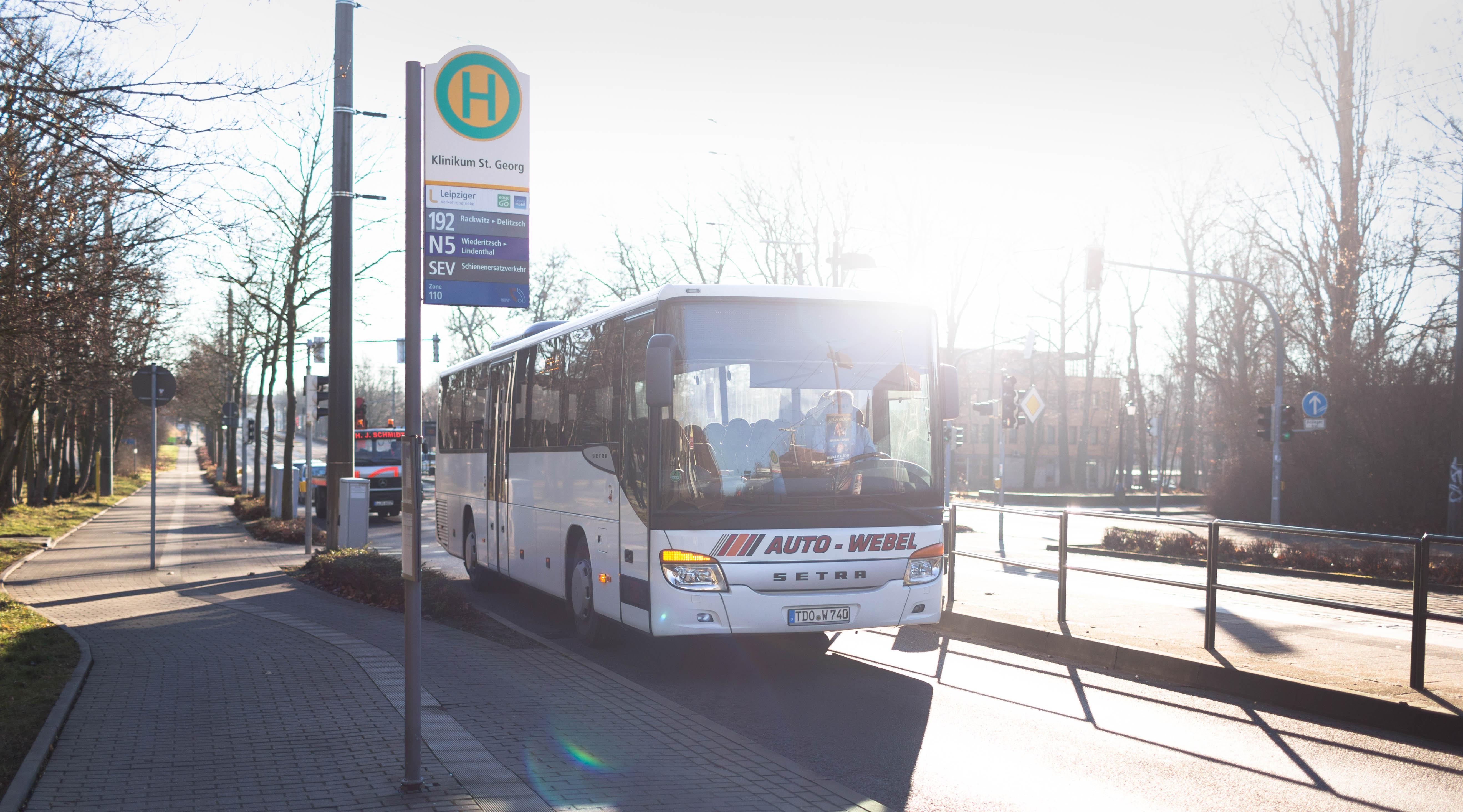 Mit Dem Bus Ins Krankenhaus St Georg In Leipzig Auto Webel Gmbh